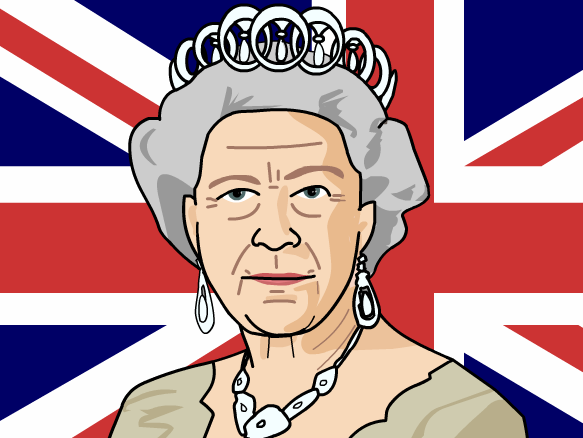Queen Elizabeth Cartoon PNG - 63449