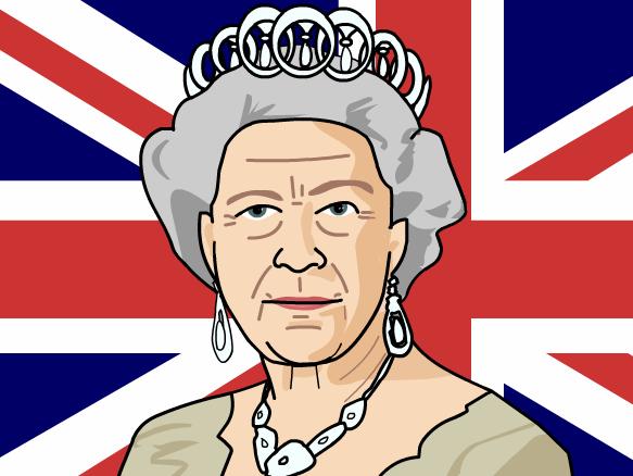 Queen Elizabeth Cartoon PNG-PlusPNG.com-583 - Queen Elizabeth Cartoon PNG