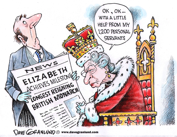 Queen Elizabeth Cartoon PNG - 63465