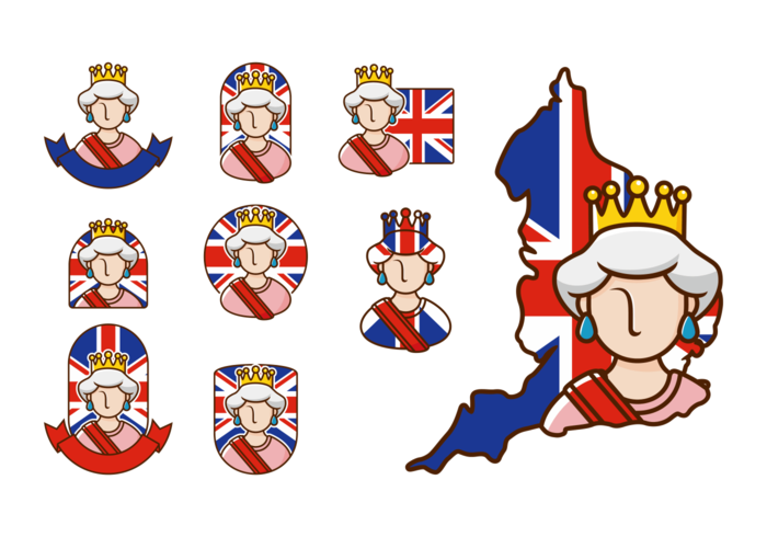 Queen Elizabeth Vector - Queen Elizabeth Cartoon PNG