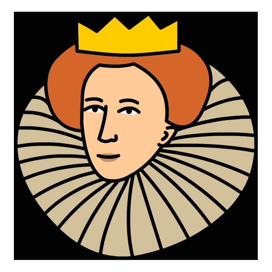RELATED MOVIES. Queen Elizabeth I - Queen Elizabeth Cartoon PNG