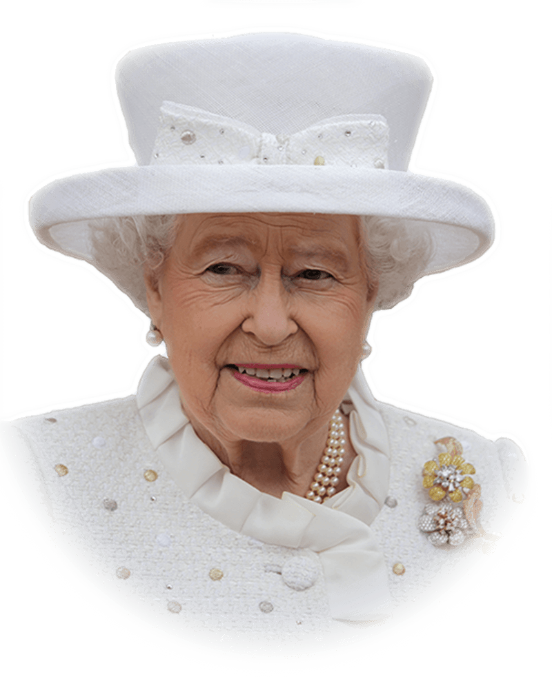 The Reign of Queen Elizabeth II - Queen Elizabeth Cartoon PNG