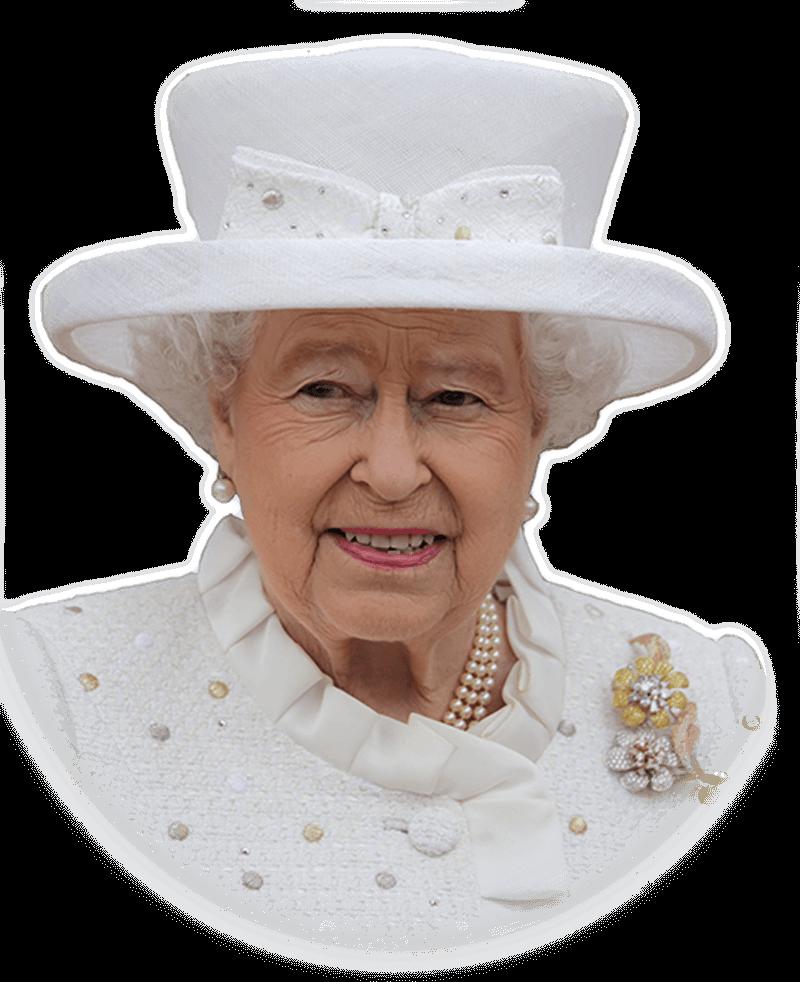The Reign of Queen Elizabeth II - Queen Elizabeth Cartoon PNG
