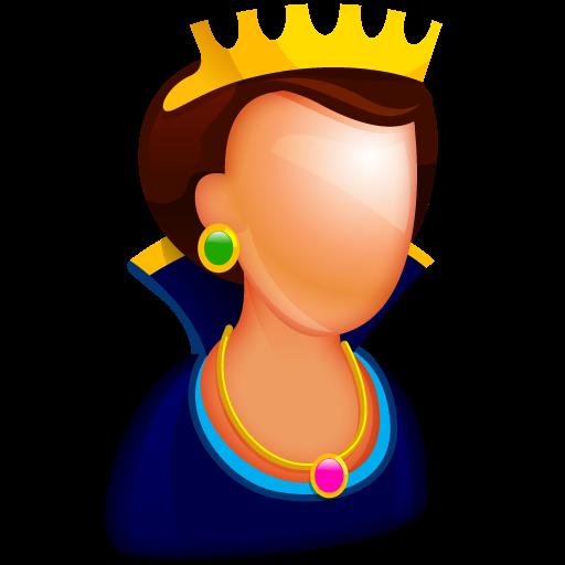 512x512 pixel - Queen PNG