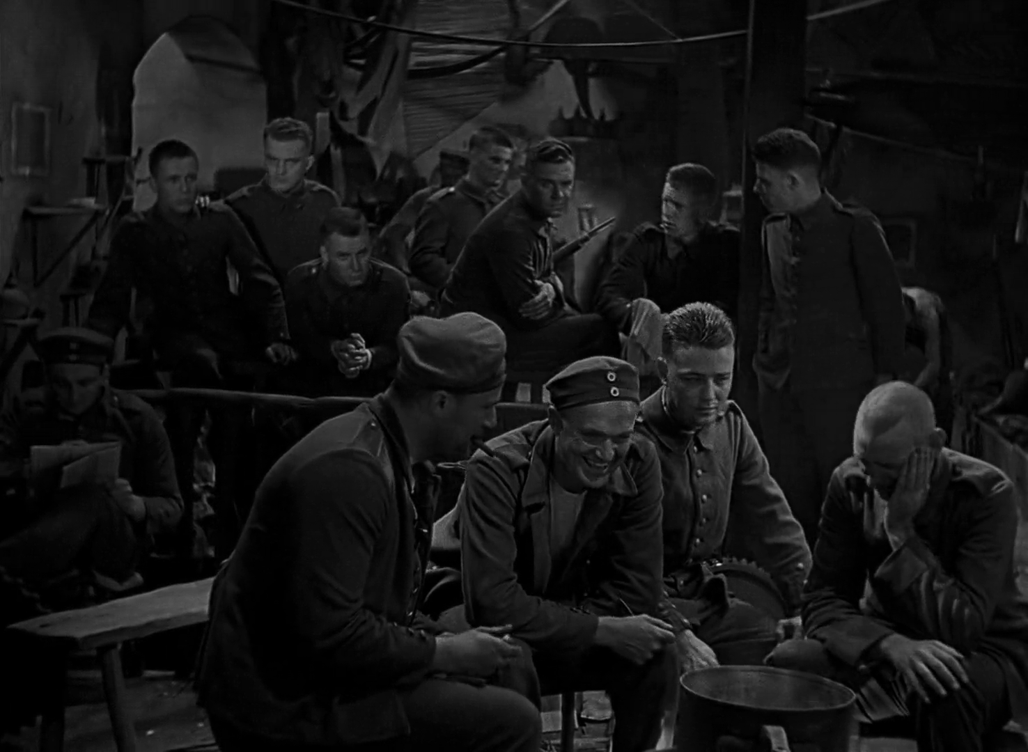 Download All Quiet on the Western Front 1930 1080p x264-JRViX Torrent |  Download HD - Quiet PNG HD