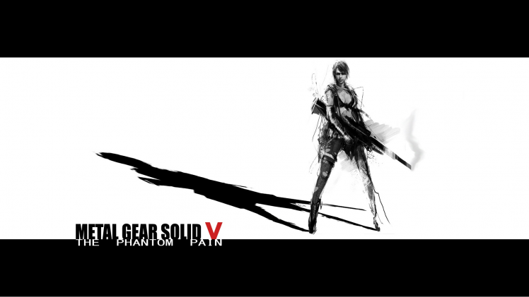 Metal Gear Solid V: The Phantom Pain, Video Games, Kojima Productions, Quiet - Quiet PNG HD