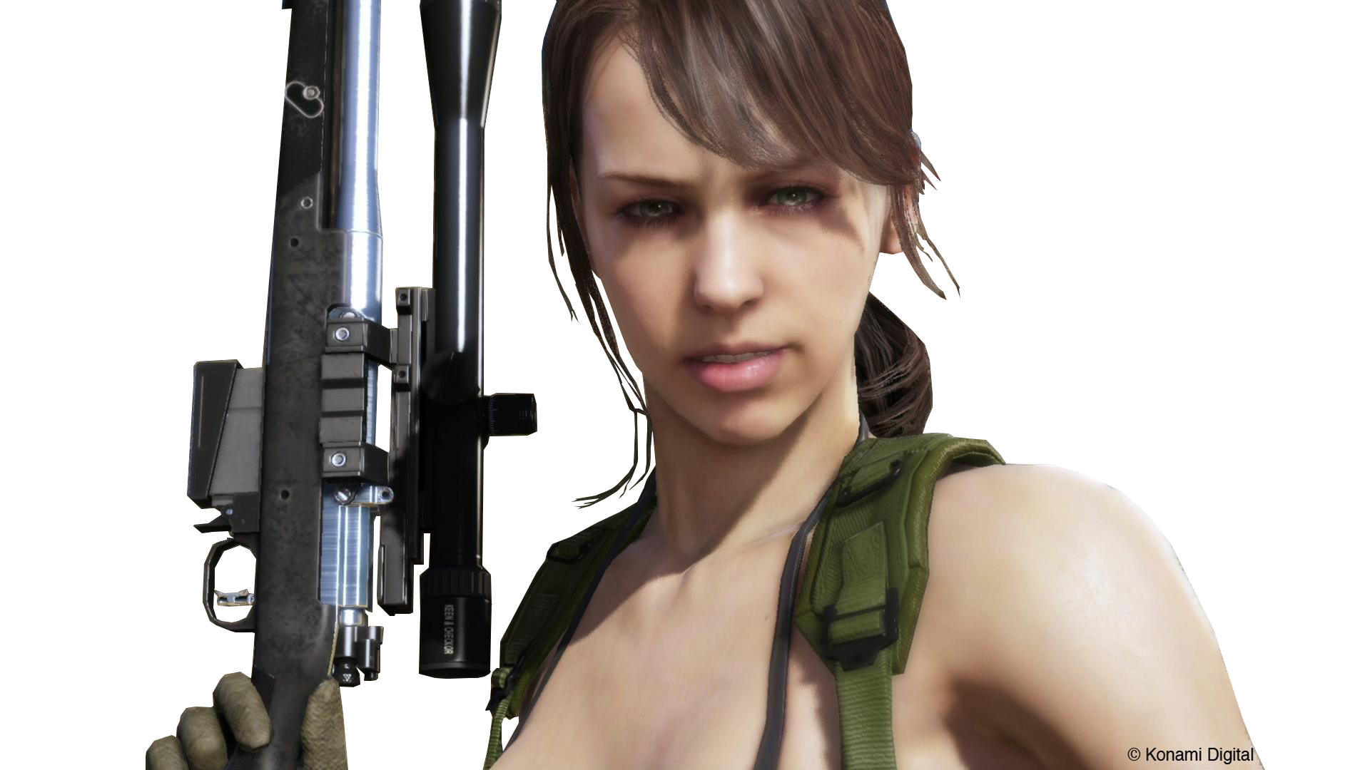 . PlusPng.com MGSV screenshot render - quiet by The-Blacklisted - Quiet PNG HD