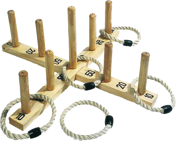Picture of Wooden Hoopla (Quoits) - Quoits PNG