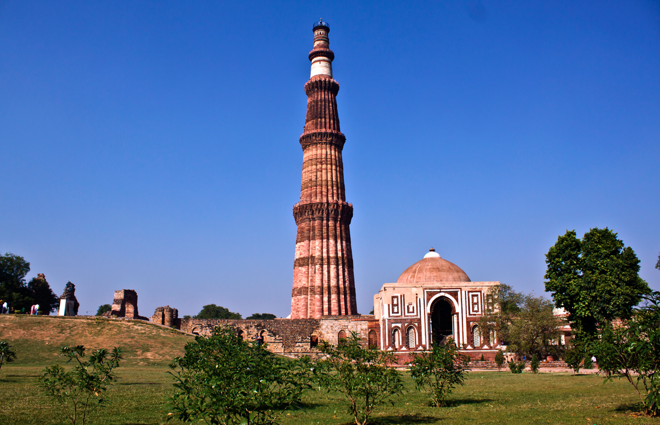 Qutb Minar (12-14c.), Delhi, India: Architecture, Far East | The Red List - Qutub Minar PNG