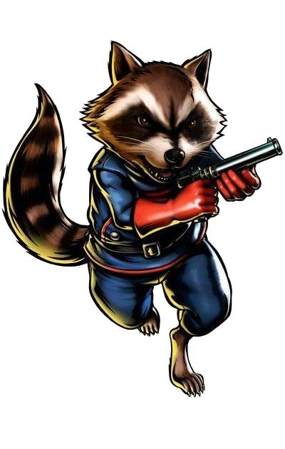 Rocket Raccoon PNG Free Download - Raccoon HD PNG