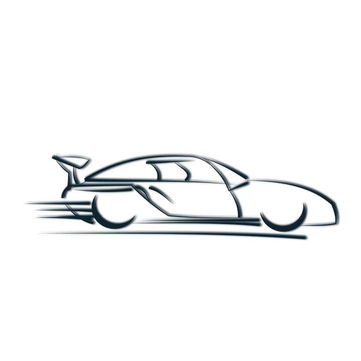race car logo symbol speed coupe speedy car auto - Car Logo PNG