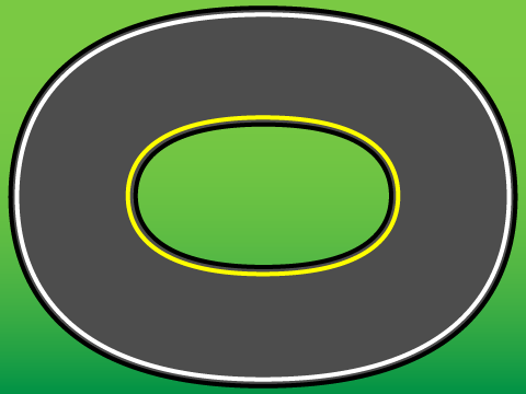 image about Race Track Printable titled Racetrack PNG Oval Clear Racetrack Oval.PNG Photographs
