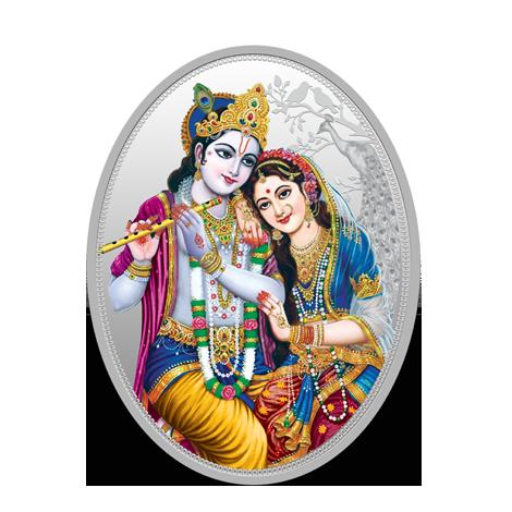 Radah Krishna HD PNG - 119559