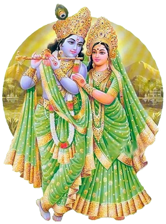 Radah Krishna HD PNG - 119552