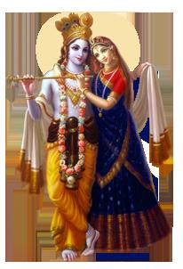 Radah Krishna HD PNG - 119556