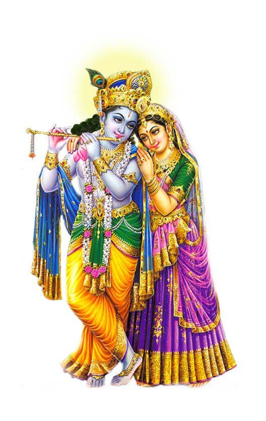 Radah Krishna HD PNG