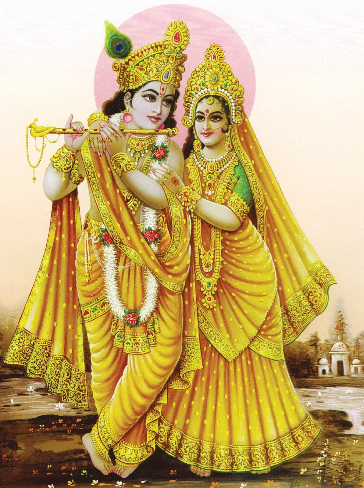 Radha Krishna PNG - 384