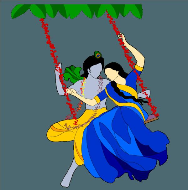 Radha Krishna PNG Transparent Images - Radha Krishna PNG