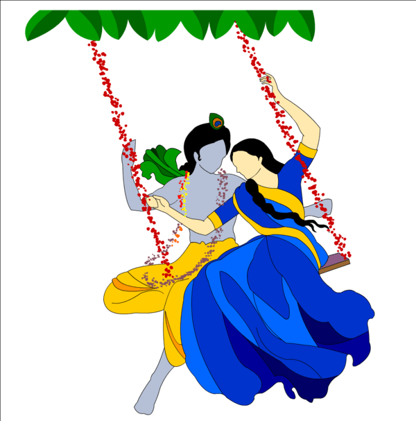 Radha Krishna PNG - 382