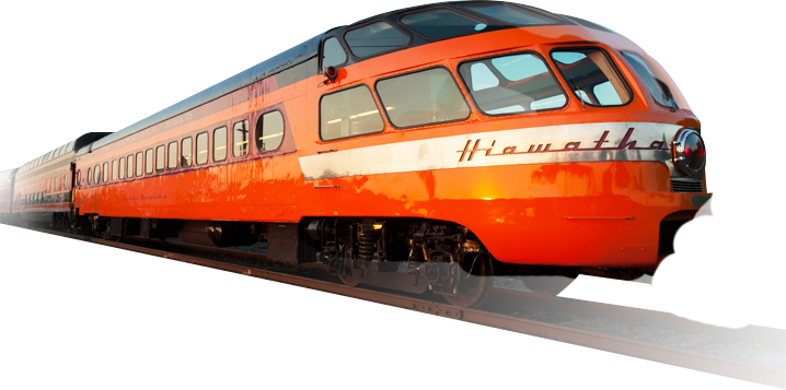 Hiawatha Train - Railroad PNG HD