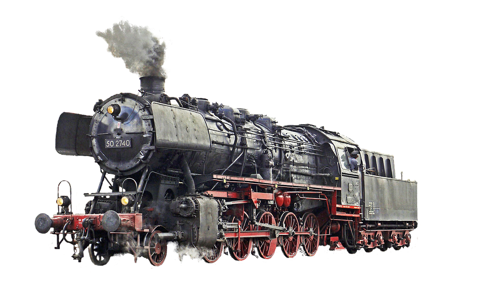 Locomotive, Loco, Train, Railway - Railroad PNG HD