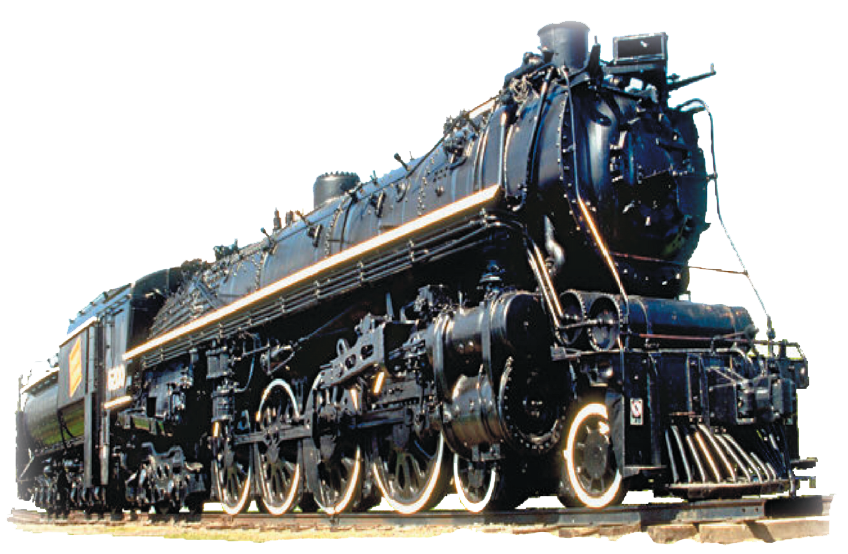 Train PNG HD - Railroad PNG HD