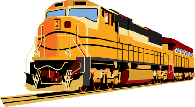 Train PNG Image - Railroad PNG HD