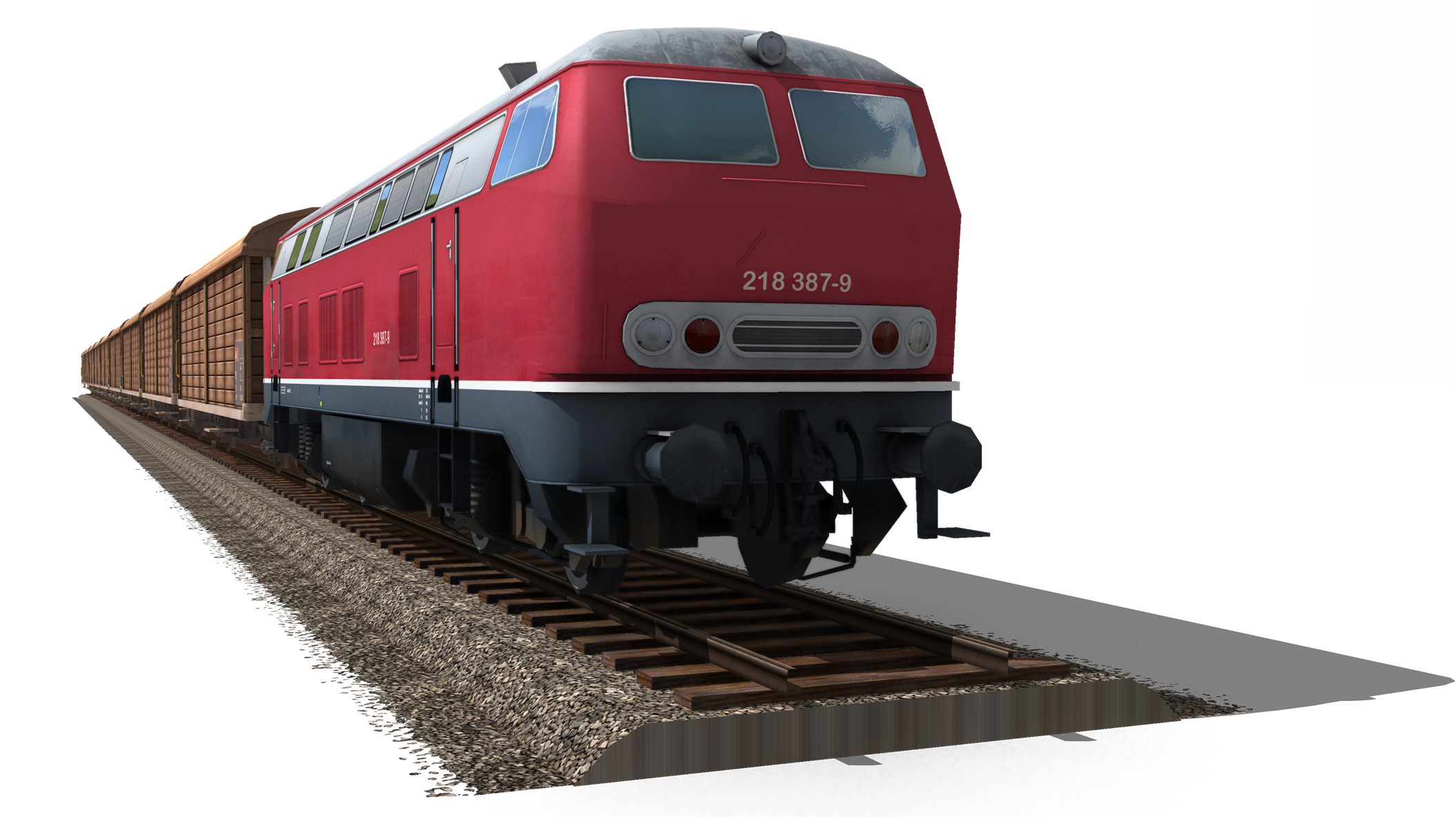 Train PNG Picture - Railroad PNG HD