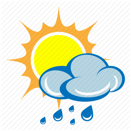 Image result for sun rain icon