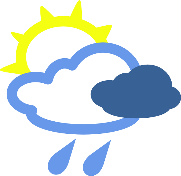 Download this image as: - Rain And Sun PNG