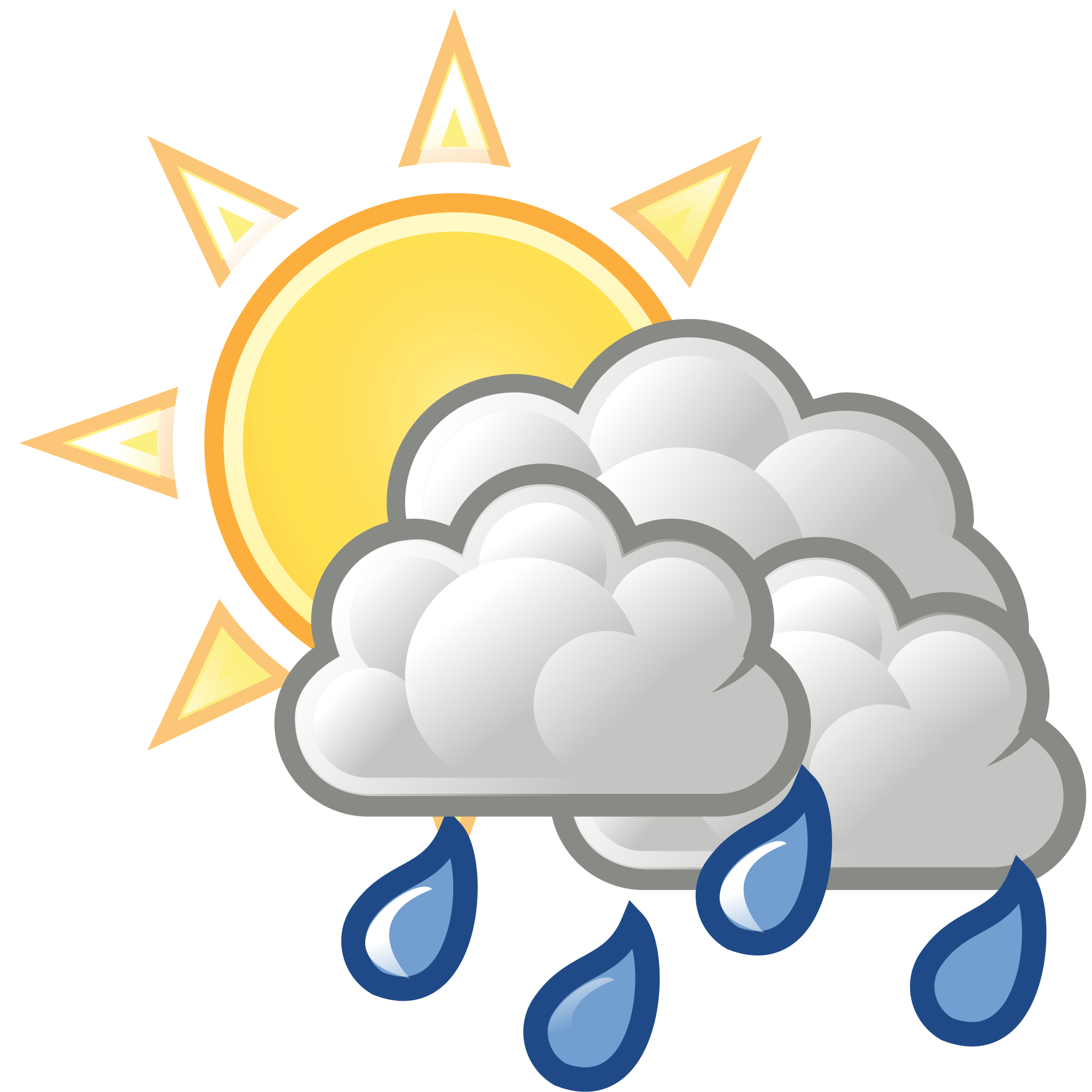 Open PlusPng.com  - Rain And Sun PNG