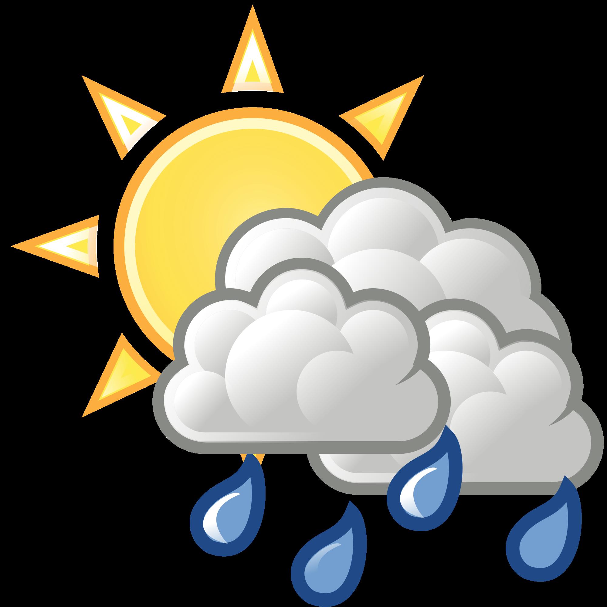 Open PlusPng.com  - Rain And Sun PNG