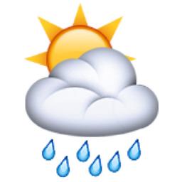 rain cloud - Rain And Sun PNG