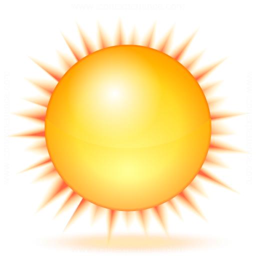 Sun Icon - Rain And Sun PNG