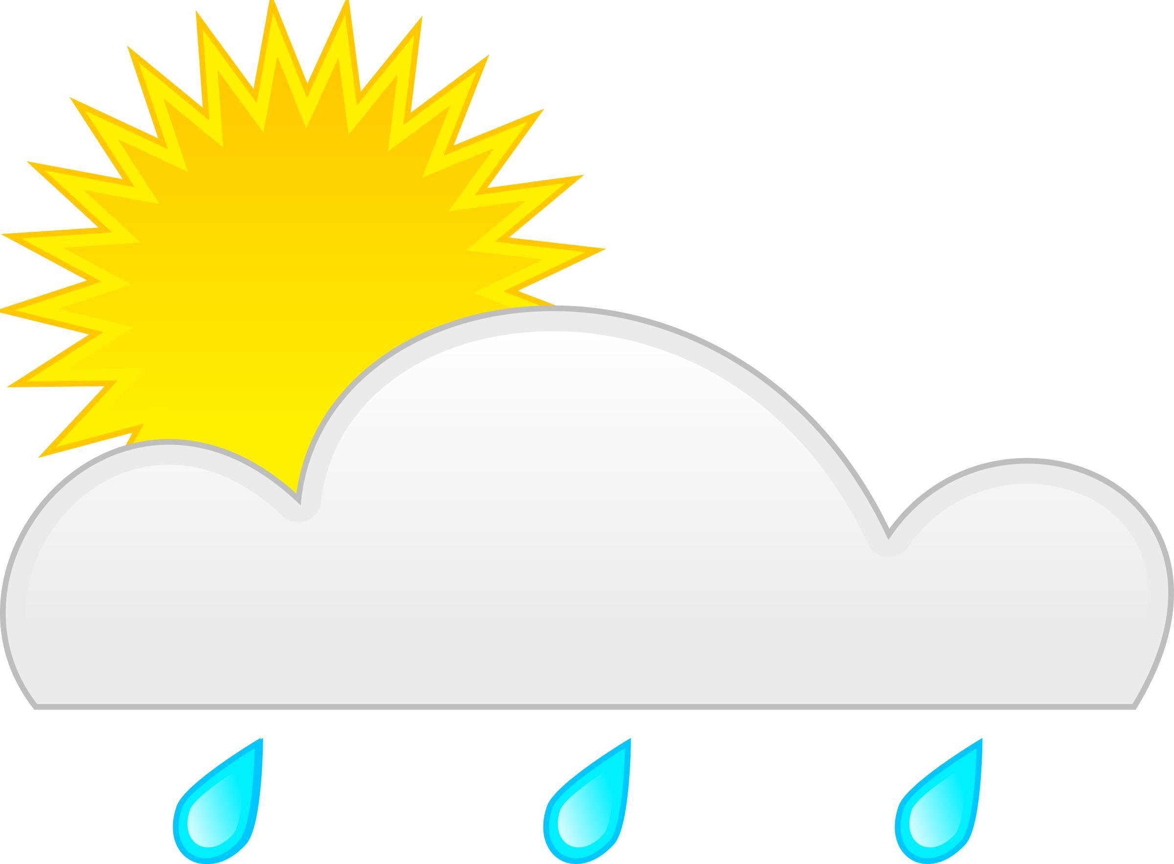 sun rain - Rain And Sun PNG