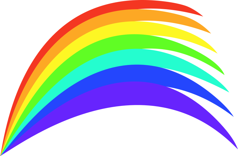 Rainbow HD PNG - 90668