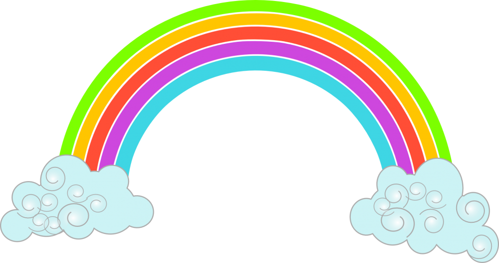 Free Rainbow PNG HD PNG Photo - Rainbow HD PNG