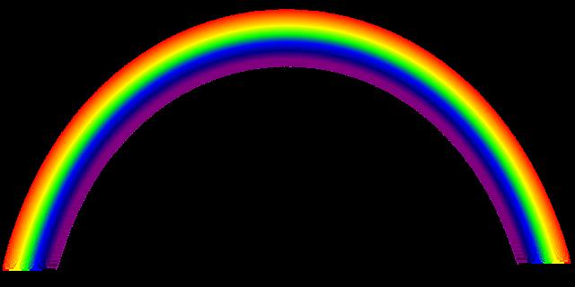Rainbow HD PNG - 90666
