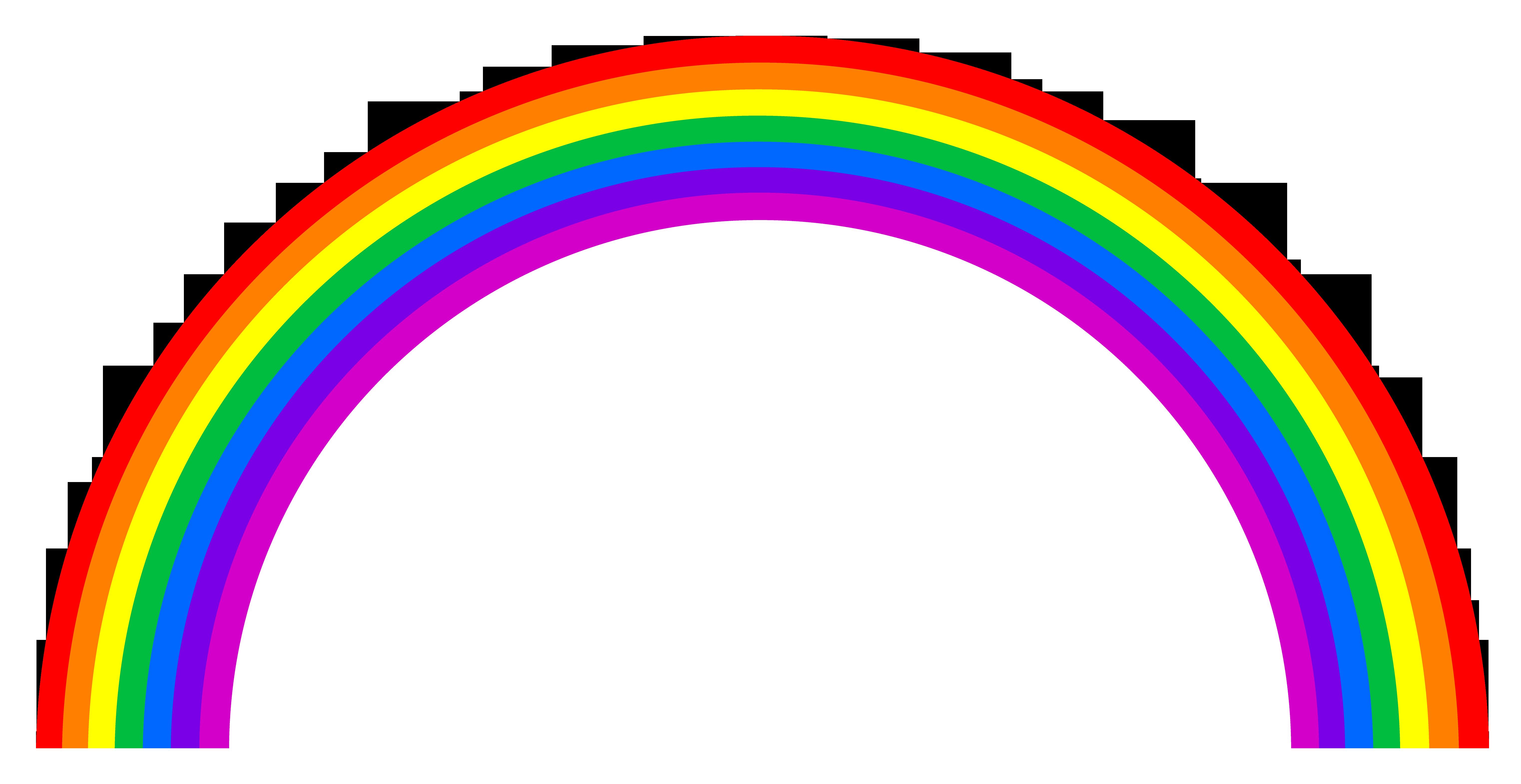 Rainbow HD PNG - 90656