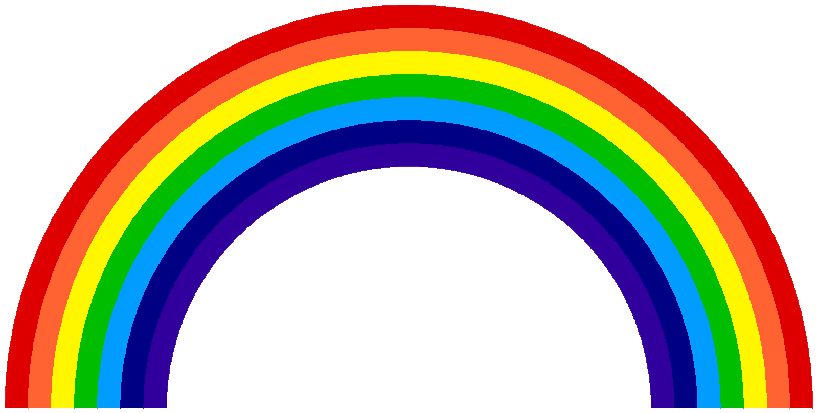 Rainbow HD PNG - 90662