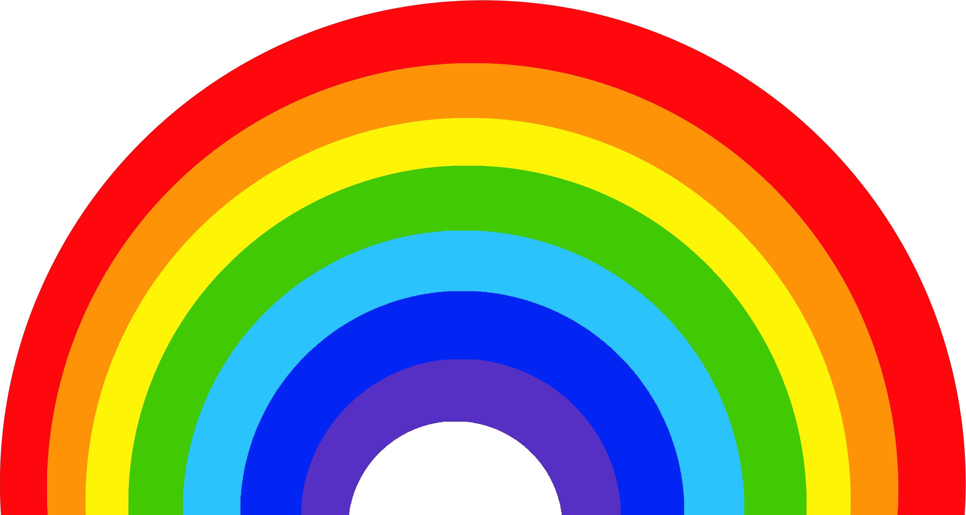 Rainbow HD PNG - 90663