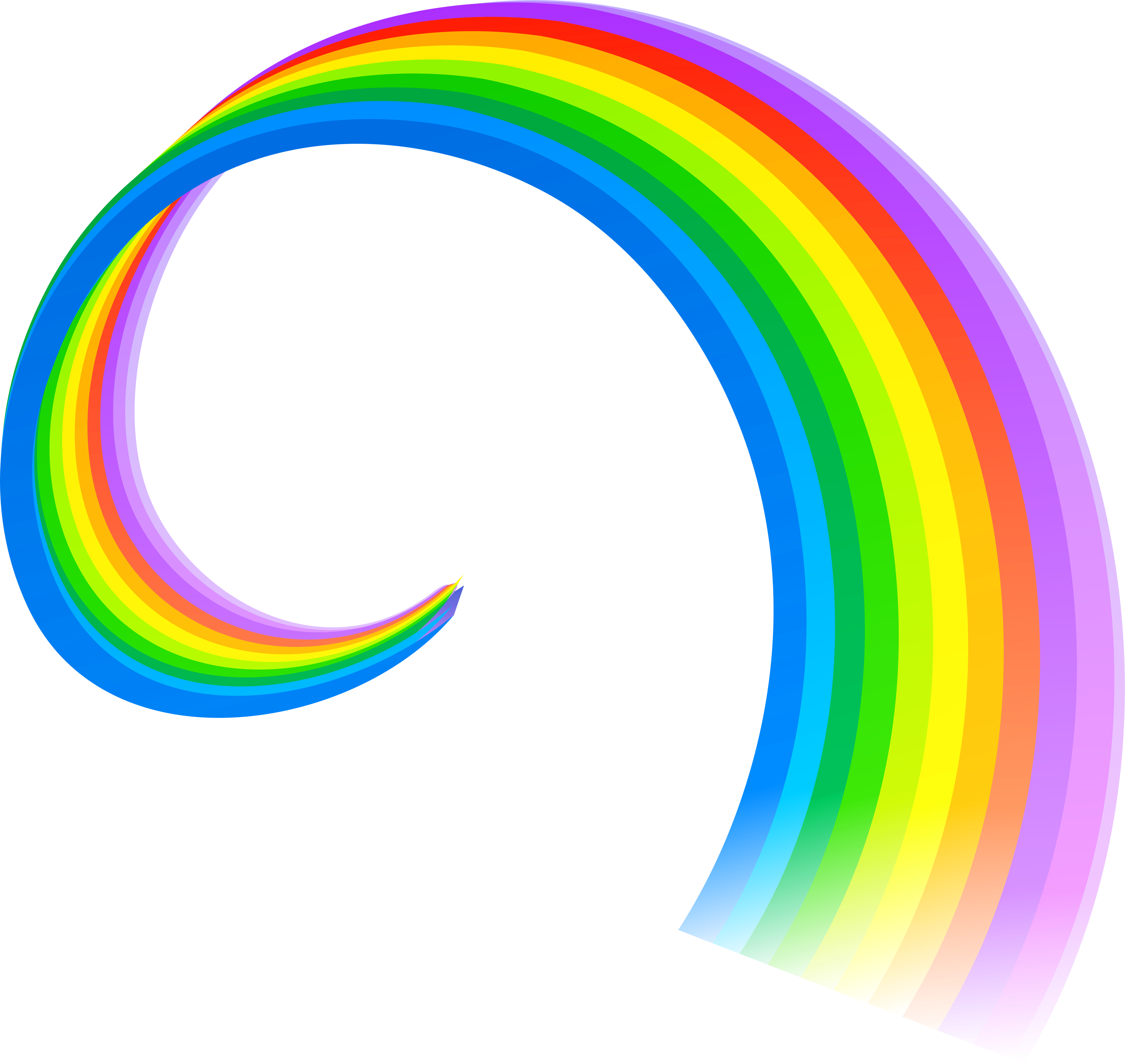 Rainbow HD PNG - 90661