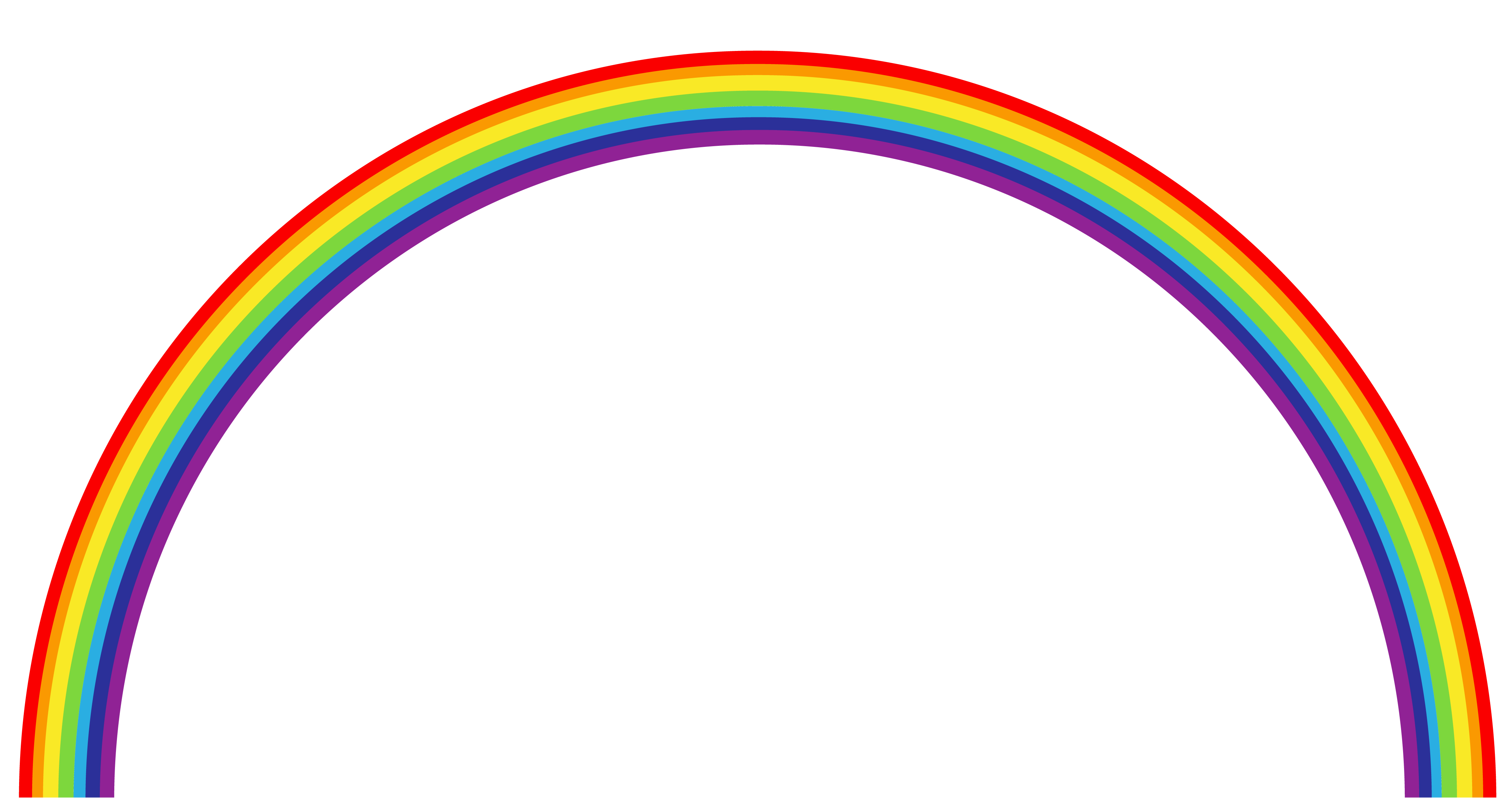 Rainbow PNG Transparent Clipart - Rainbow HD PNG