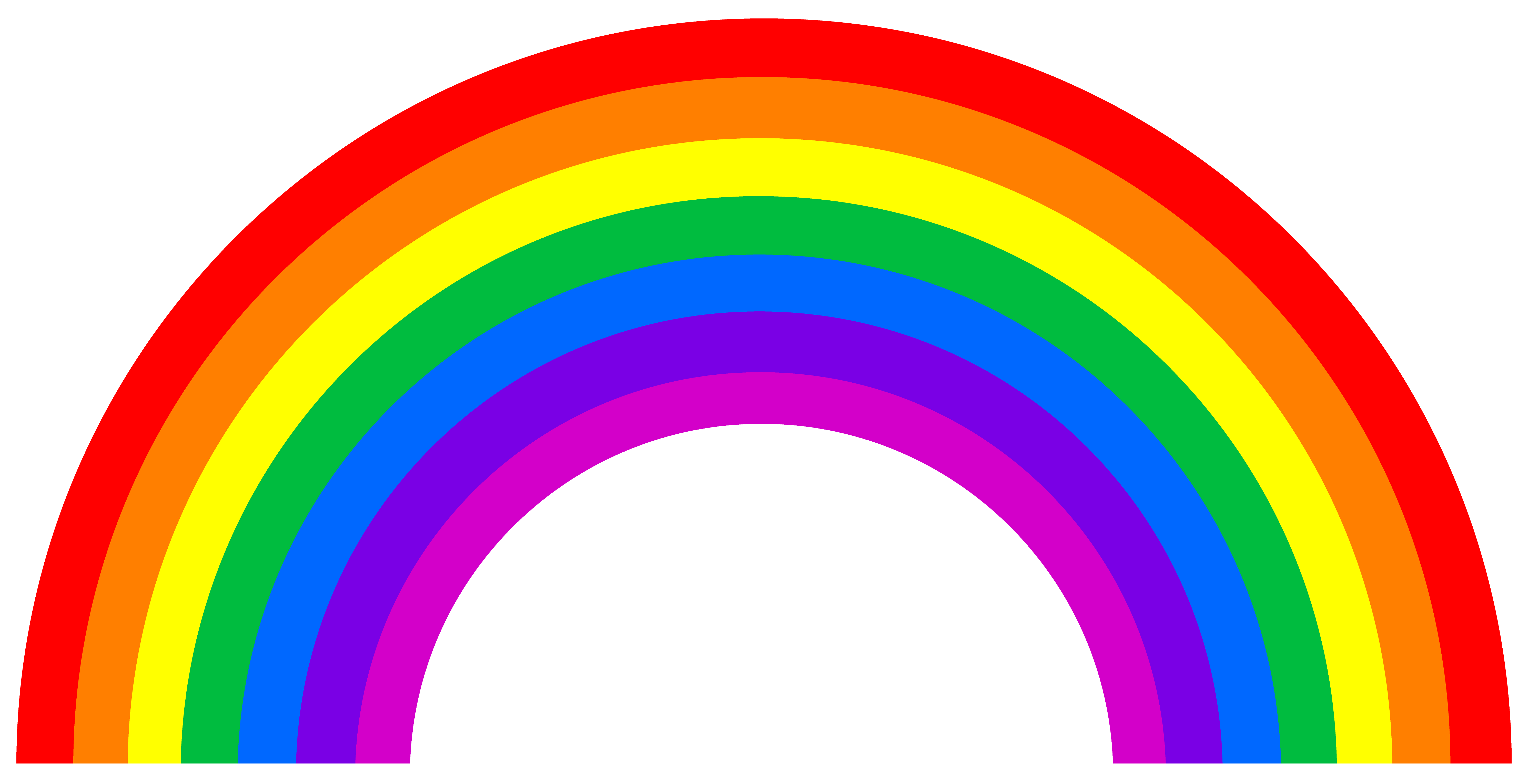 The meaning of the dream in which you saw «Rainbow» - Rainbow HD PNG