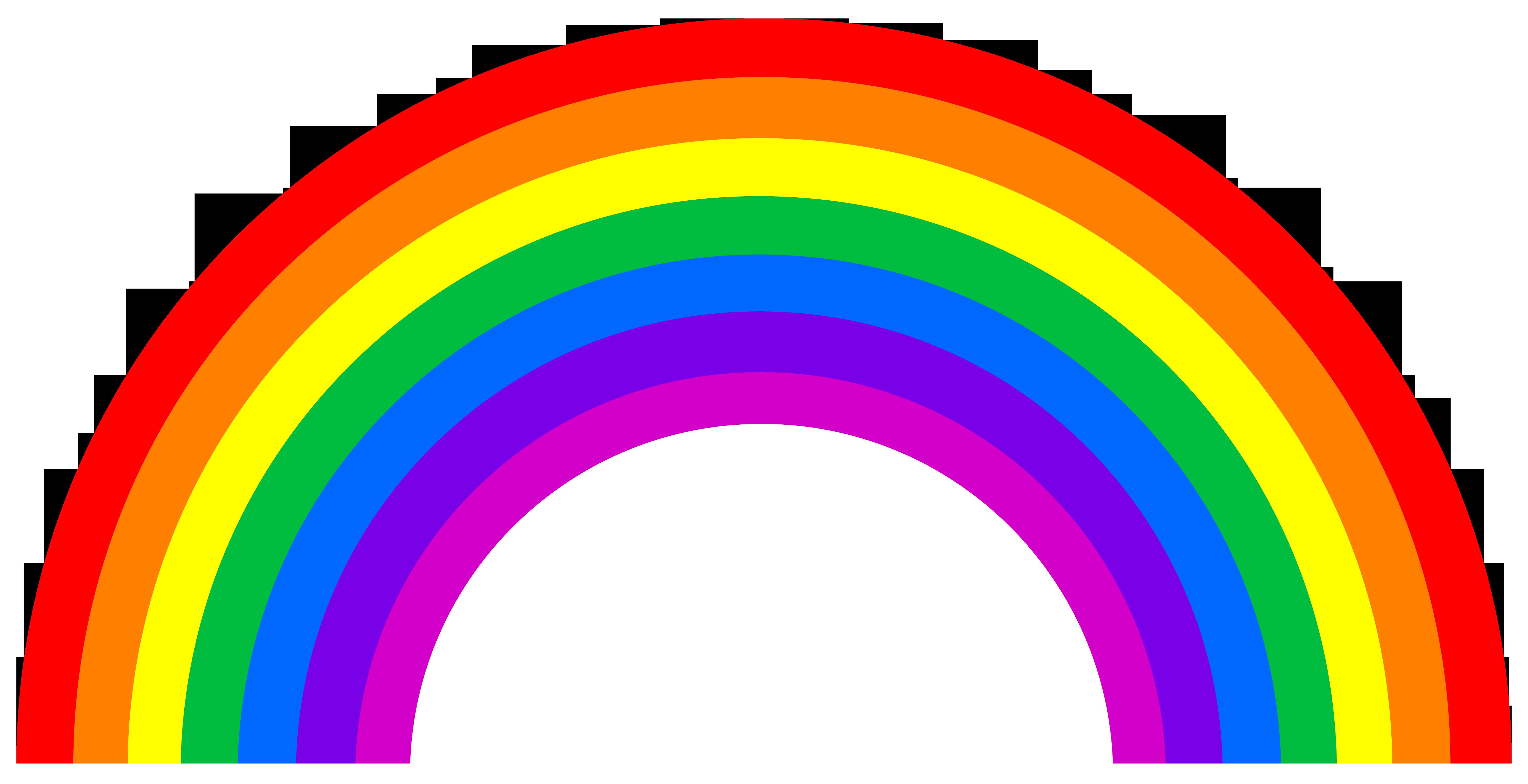 Rainbow HD PNG - 90659
