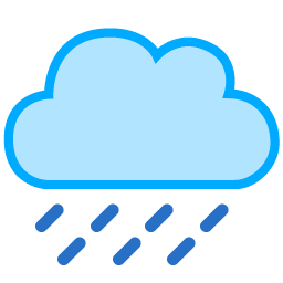 128x128 px, Cloud Rain Icon 256x256 png - PNG Rain Cloud - Raincloud PNG HD