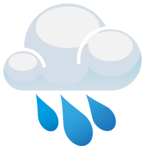 Rain Cloud Clip Art - Raincloud PNG HD