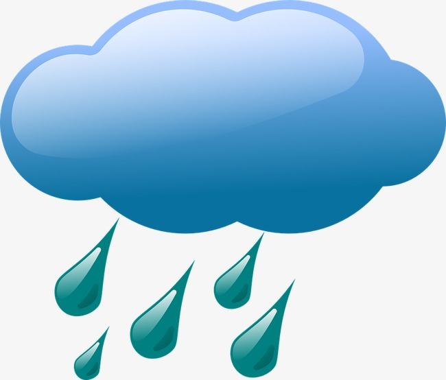 Little Rain Cloud 2 Clip Art