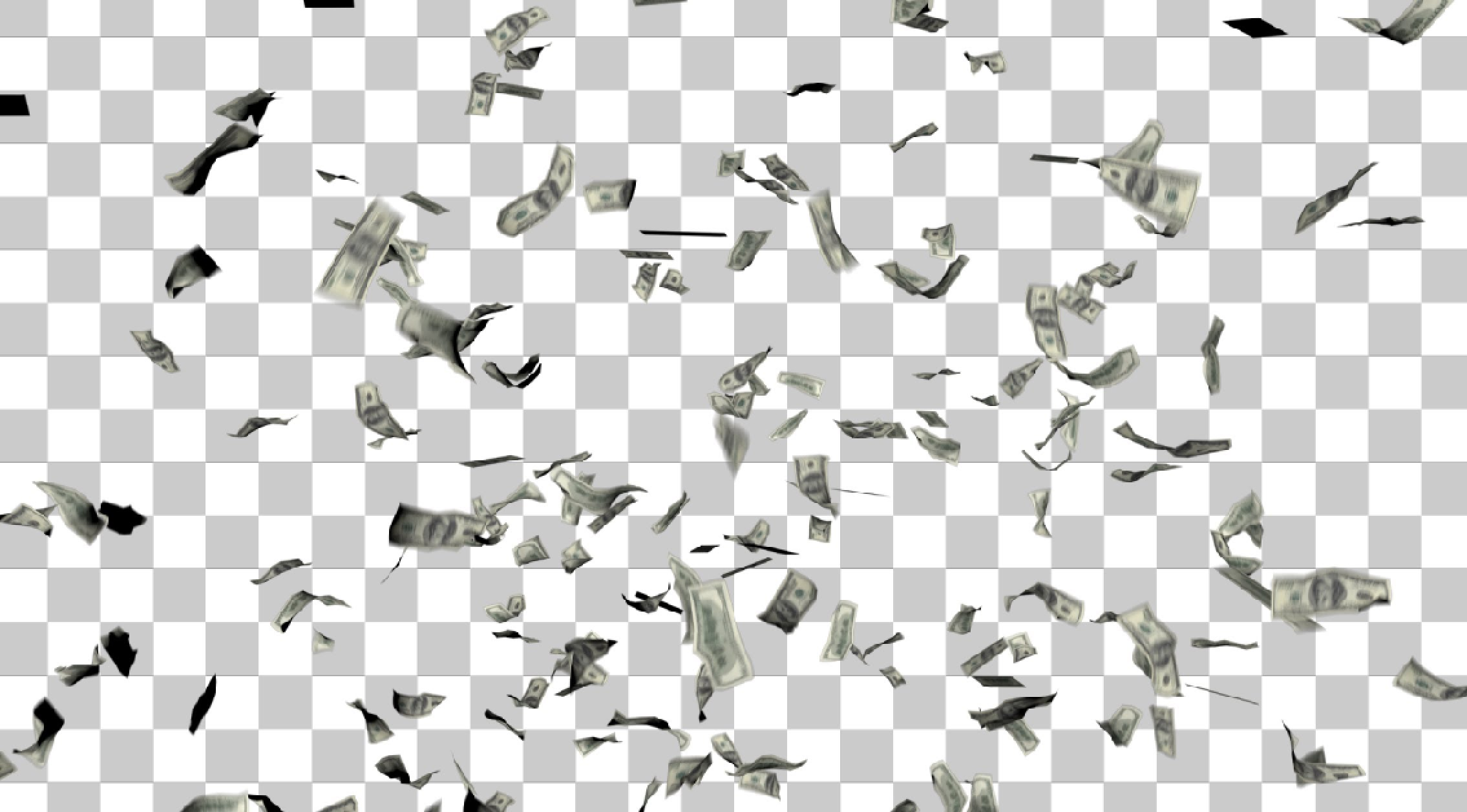Raining Money PNG HD-PlusPNG.com-2270 - Raining Money PNG HD