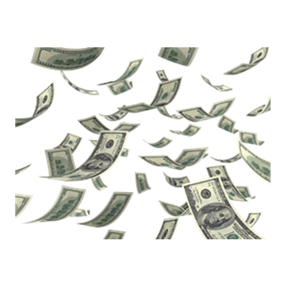 Cash-Money-Falling-psd81164.png - Raining Money PNG HD